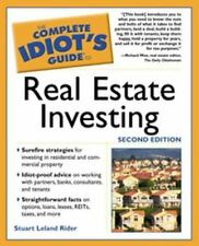 Complete Idiot's Guide to Real Estate Investing book for dummies FREE SHIPPING