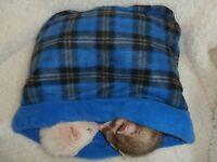 BOGO FREE- **Large**  Pouch Cuddle Sack Snuggle Bed -Ferret - Guinea Pig - Skunk