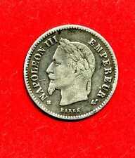 (F.51)  20 CENTIMES NAPOLÉON III 1868 BB (TTB-) 200000 exemplaires