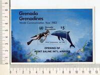36735) Grenada Grenadines 1984 MNH New Airport - Dolphins