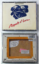 ASPECTS OF LOVE Musical From Andrew Lloyd Webber .. 1989 2-CD-Box TOP