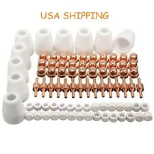 85pcs LG-40 PT-31 Air Plasma Cutter Cutting consumables For CUT-50D CUT50 CT-312