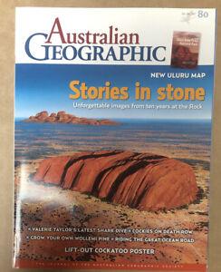 Australian Geographic Magazine Oct - Dec 2005 No. 80 In Good Condition