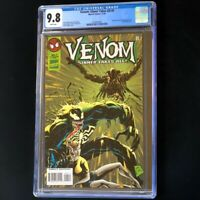 Venom Sinner Takes All #4 💥 CGC 9.8 White Pages 💥 Sin Eater Marvel Comic 1995