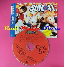 CD singolo Sum 41 Fat Lip Island Records 588 756-2 europe 2001 no lp mc vhs(S19)