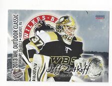 2012-13 AHL Outdoor Classic Jeff Zatkoff (Cleveland Monsters)
