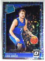 Panini Donruss Optic 2018/19 LUKA DONCIC Fast break Holo Prizm Rookie #177 *READ
