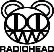 "RADIOHEAD  DECAL STICKER  Many Colors   FREE US Ship  6"" x 6"""