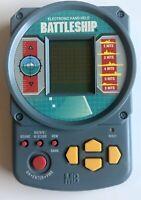 Vintage Milton Bradley Battleship LCD Electronic Handheld Video Game 1995