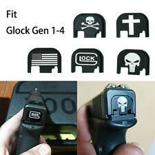 Tactical Pistol Rear Cover Slide Back Plate For Gen1-4 Glock 17 - 41 9mm Handgun