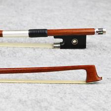 Master Pernambuco Violin Bow 4/4 Size Ebony Frog Fast response great performance
