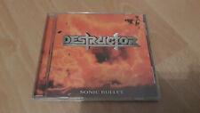 Destructor - Sonic Bullet - CD