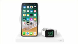 Genuine Belkin BOOST↑CHARGE™ 3-in-1 Wireless Charger for Apple Devices