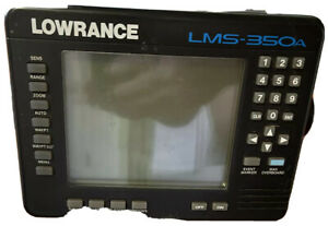 Lowrance LMS-350A Chartplotter Fishfinder. 30 Day Warranty. Head Unit Only.