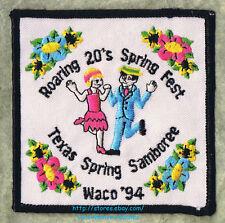 LMH Patch 1994 GOOD SAM CLUB Spring Samboree Rally WACO TX Sams Roaring 20s Fest