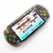 Clear White Refurbished Sony PSP 1000 Handheld System Game Console +Memory Card