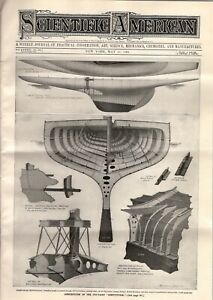 1901 Scientific American May 11 - Cup yachts Constitution and Shamrock II; Bean