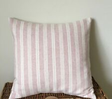 Susie Watson  Cushion Cover CAMBRIDGE STRIPE in Rose 40 cms