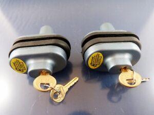 MASTER TRIGGER Gun Locks Bluish with Keys #P243 & P721 new