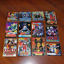 Ultraman and Kamen Rider Original VCD Movies lot of 12