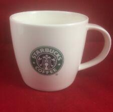 2008 Starbucks Co Green Siren Mermaid Logo New Bone China White 12oz Coffee Mug