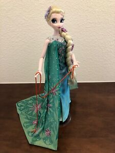 17-inch Doll Elsa Limited Edition Disney Store Frozen Fever Deboxed