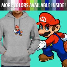 Super Mario Bros Hoops Basketball Nintendo Pullover Sweatshirt Hoodie Sweater