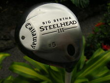 Ladies Right Hand Callaway Steelhead III 5 Wood - Very nice condition