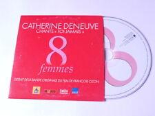"Catherine Deneuve - toi jamais  - cd promo (BO du film ""8 femmes"")"