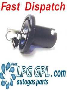 Autogas filler lock cover fuel cap for UK LPG fillers