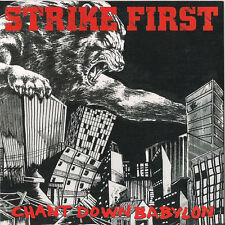 "Strike First - Chant Down Babylon 7"" NEW MORALITY NYHC MADBALL NO TURNING BACK"