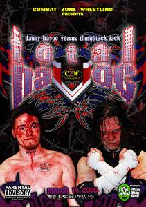 CZW Wrestling: Total Havoc DVD, Thumbtack Jack Danny Mad Man Pondo