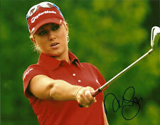 Natalie Gulbis Hand Signed 8x10 Photo Autograph Golf LPGA