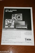 AT25=1972=AKAI HI FI STEREO=PUBBLICITA'=ADVERTISING=WERBUNG=