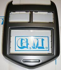 Mascherina navigatore autoradio monitor Doppio 2 Din Chevrolet AVEO 2011 in poi