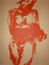 GARACHE Claude Lithographie Originale art abstrait abstraction lyrique