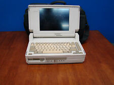 COMPAQ SLT/286 VINTAGE LAPTOP RARE WORKING 1988 CASE FEDEX SHIPPING in USA