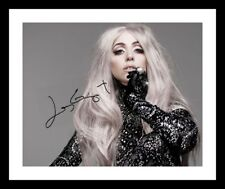 LADY GAGA AUTOGRAPHED SIGNED & FRAMED PP POSTER PHOTO 7