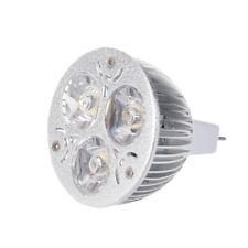 3W 12-24 V MR16 Bianco caldo 3 LED Leggero Riflettore Lampada Lampadina solo HK