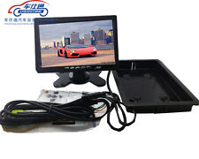7 Inch LCD Rear View Monitors 2 Video Input Reversing Parking HD Screen