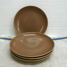 GROUP OF 4 RUSSELL WRIGHT  IROQUOIS CASUAL RIPE  APRICOT BREAD AND BUTTER PLATES