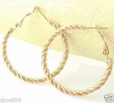 HOT New  9k Gold Filled Fashion Stylish Lady Ear Stud Hoop Earring 481