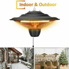 Electric Hanging Patio Heater 1500W Home Balcony Ceiling Mounted Heater