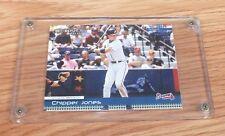 Donruss 2004 Outfield Atlanta Braves Chipper Jones Sammlerstück Karte & Hülle