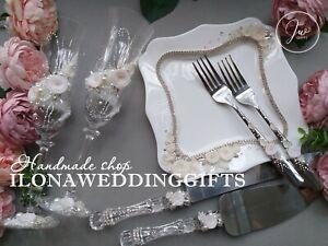 Swarovski Crystal Personalize Wedding Toast Glass Bling Mr Mrs Romantic Elegant