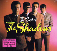 THE SHADOWS - THE BEST OF - ROCKIN' GUITAR CLASSICS (NEW SEALED 2CD)