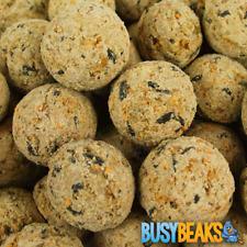 More details for busybeaks suet fat balls - high energy feed wild garden bird food treats
