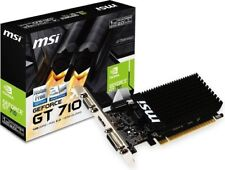SCHEDA VIDEO VGA MSI GeForce® GT 710 1GB 1GD3H LP V809-1899R