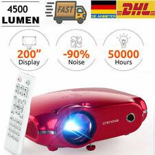 Crenova LCD Beamer Mini Projektor LED Video Heimkino Beamer HDMI VGA USB TV BOX