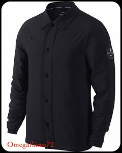 Nike Kyrie Shield Coachs Basketball lifestyle Jacket, 890653-010, Sz XL, Black